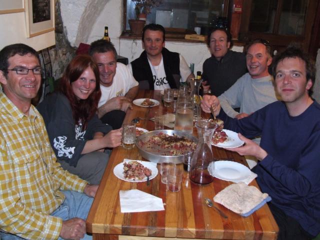 dinner in La Breche
