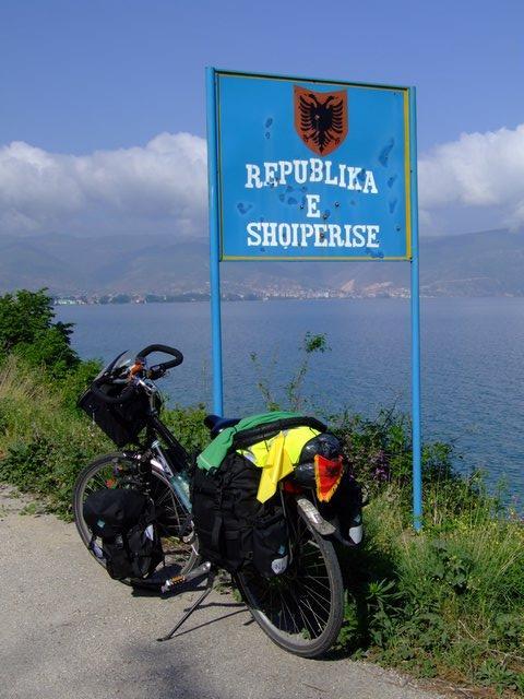 Albania border
