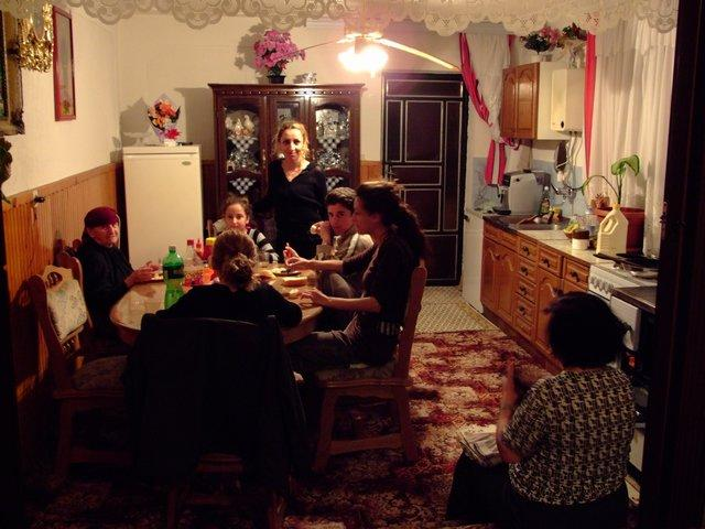 Albanian family in Macedonia