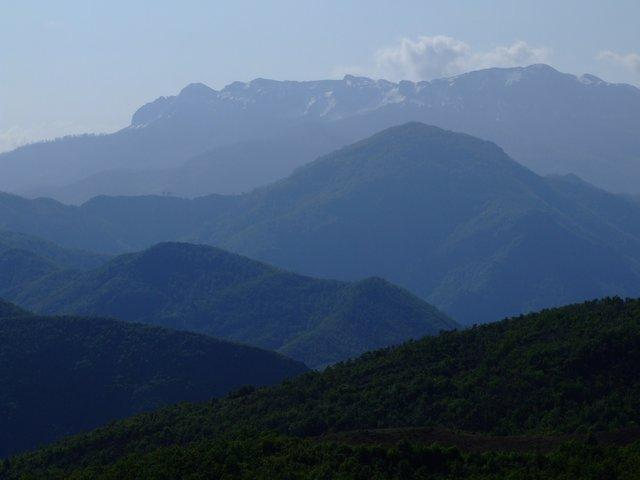 mountains North Albania