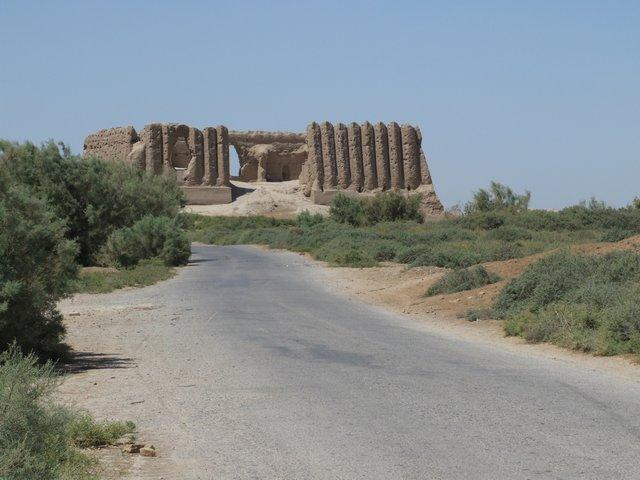 7th century 'koshks' at Merv