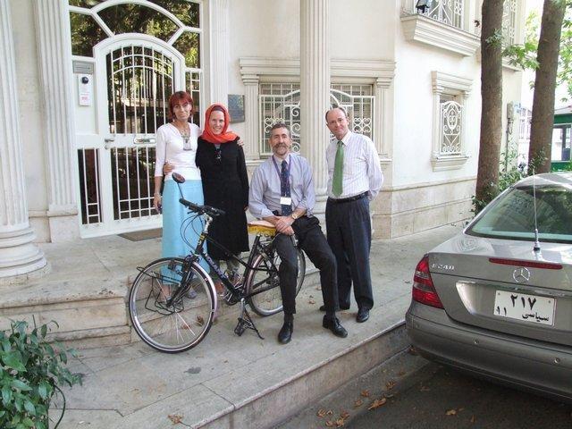 Beppie, Henk and Mr Ambassador