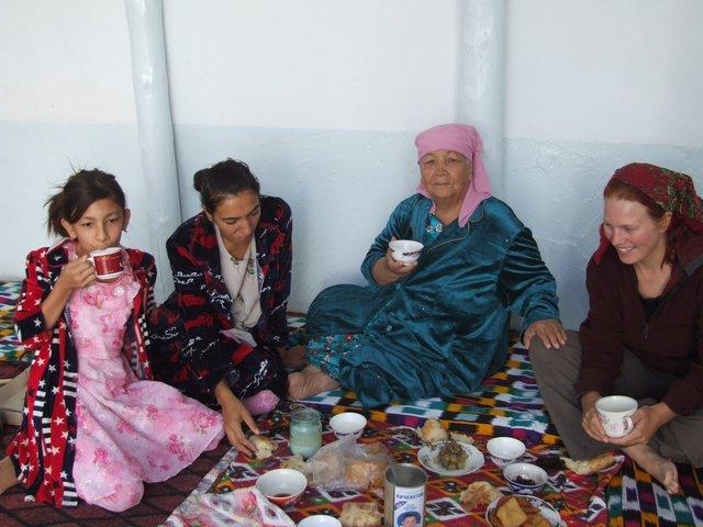 breakfast in Bukhara