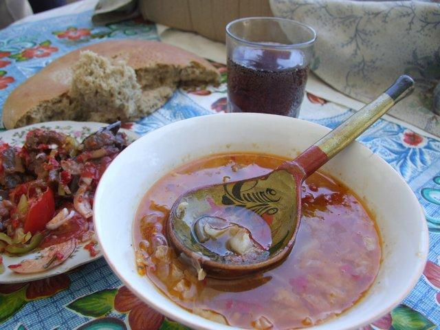 Turkmen lunch