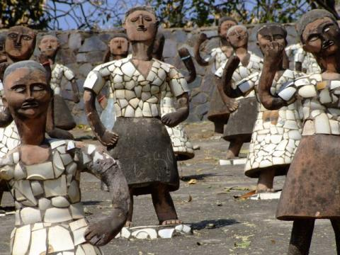 Nek Chand Fantasy Rock Garden