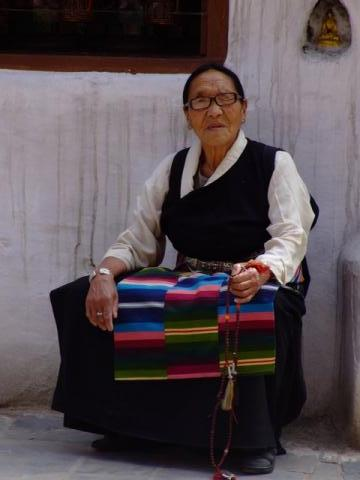 a lady from Tibet