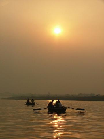 Ganga sunrise