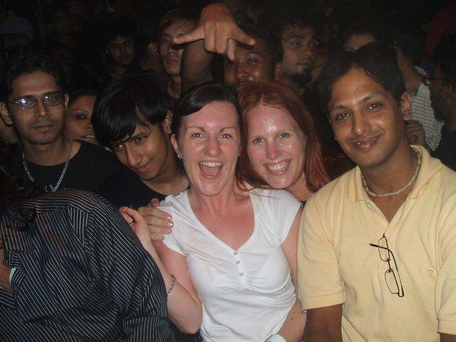 Ainne&me at a rock-concert