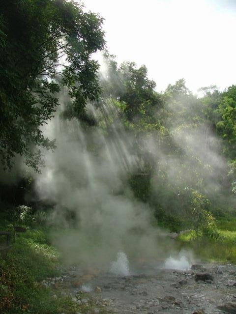 a very HOT spring