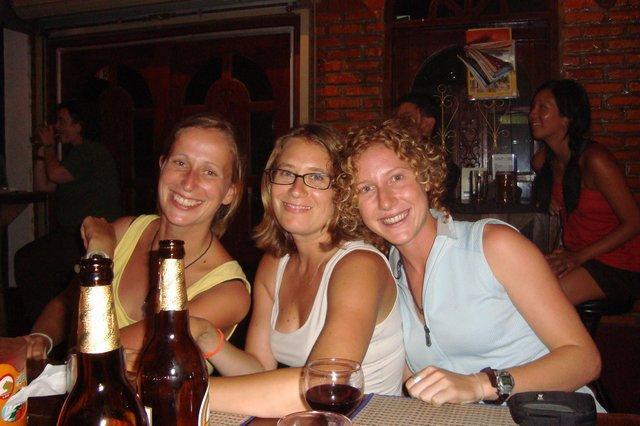 Christine, Lea & Teresa