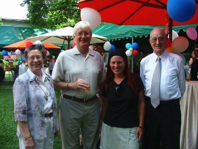 Jannie, Mr, Ambassador, me and Ben