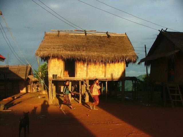 sunset village view