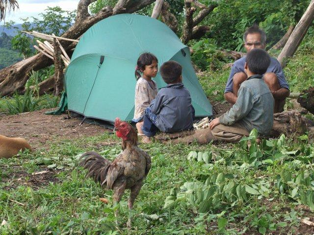 village camping