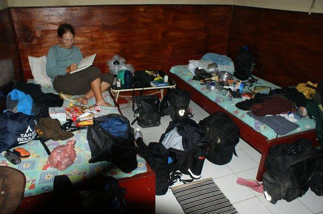 our room...