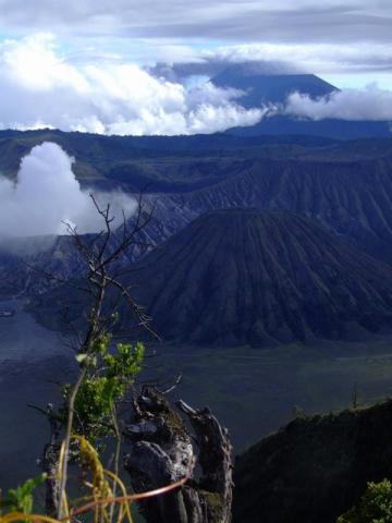 Tenggar crater and Bromo