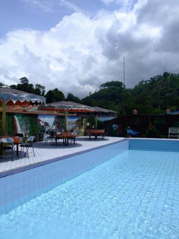 my pool at the coffee plantation