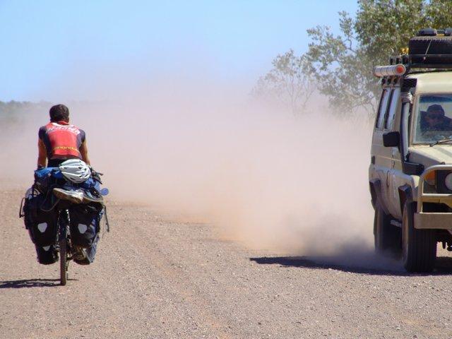 dust eating...