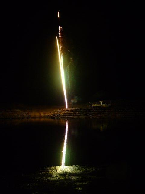 fire works at coolibah