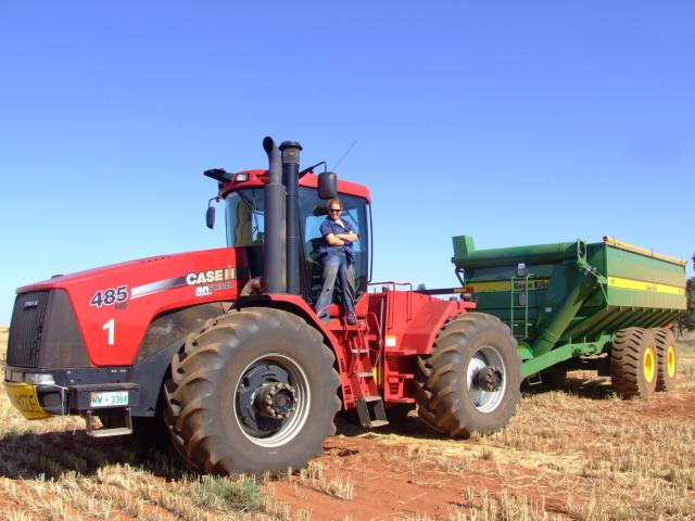 me and my tractor