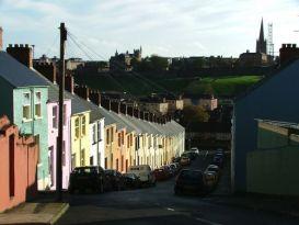 A street in Derry