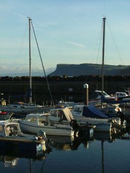 Ballycastle harbour