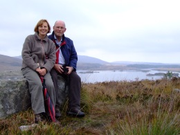 mum & dad in Ireland