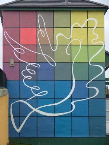 Mural in the Bogside