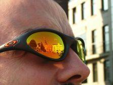 Sean's sunglasses. Riga
