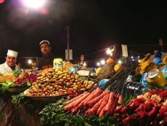 the market, Marrakesh