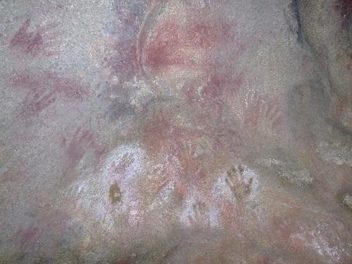 Aboriginal cave-painting