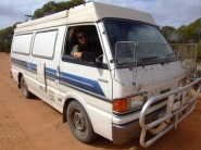 Brendan & his Van