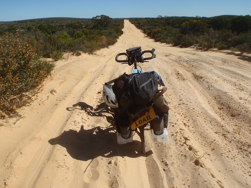 Rough Sandy Track