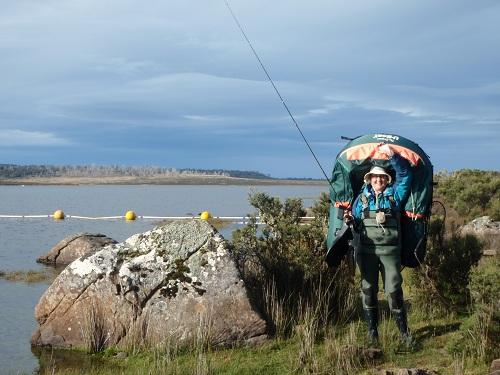 my fishing-buddy Kath