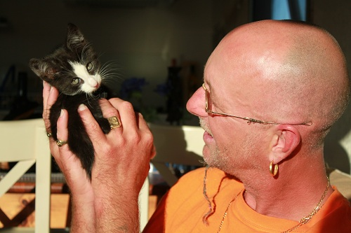 Lars and his Cat