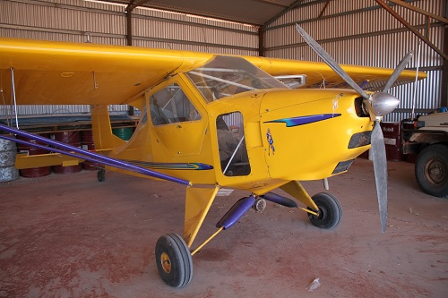 Small Yellow Plane