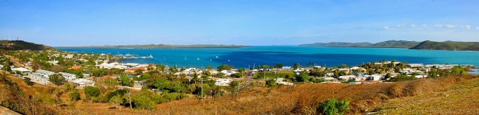 View over TI & Torres Strait