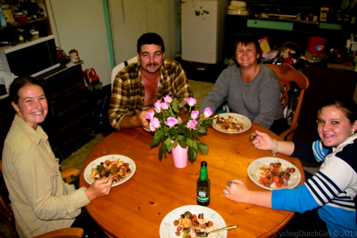 Adrian, Leanne & the girls
