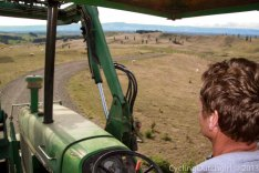 Harry on the Tractor