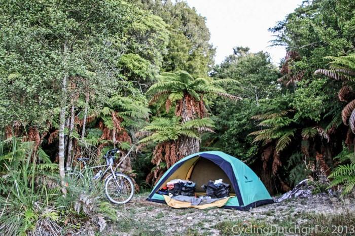 Camp like a single man