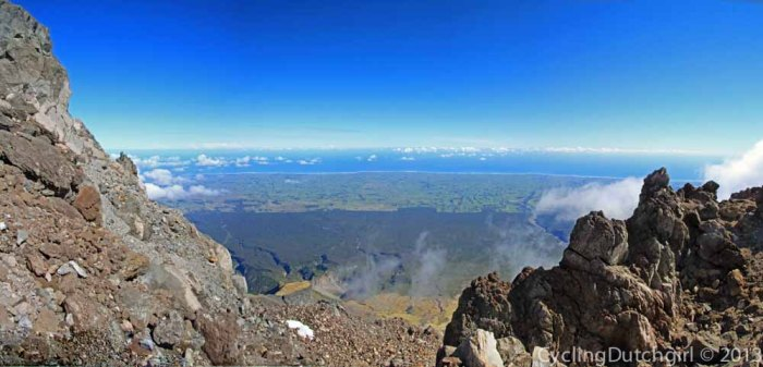 View from Taranaki