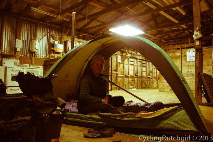 Shearing Shed Camping