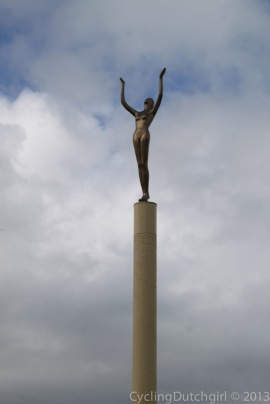 The Spirit of Napier Statue.