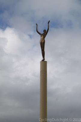 The Spirit of Napier Statue.
