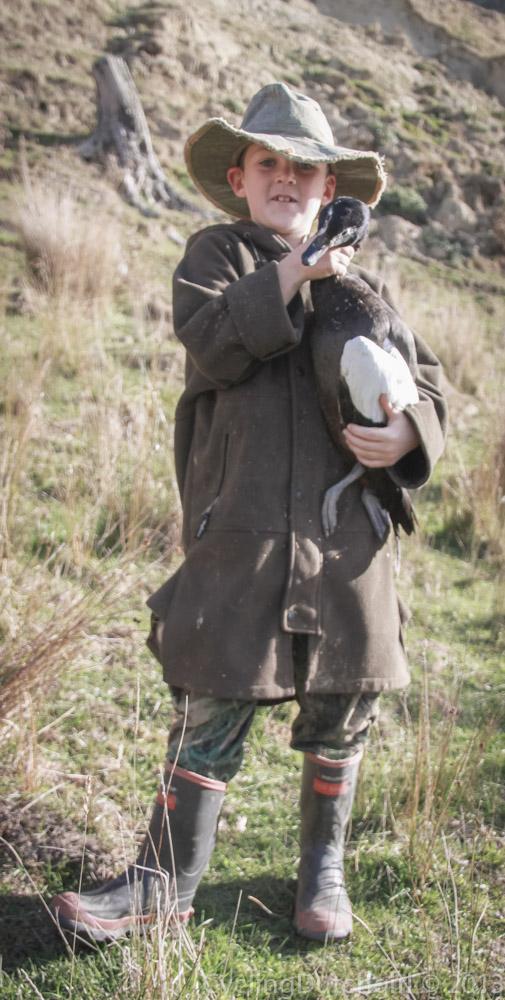 Harry got a duck