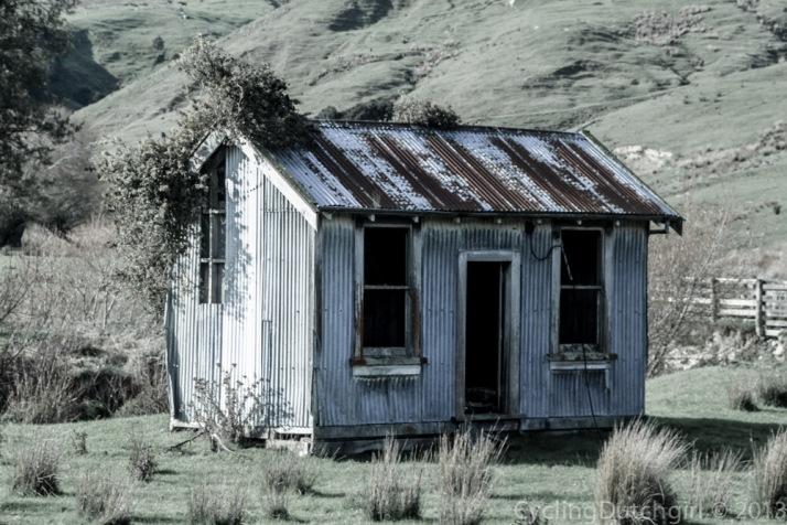 little old hut