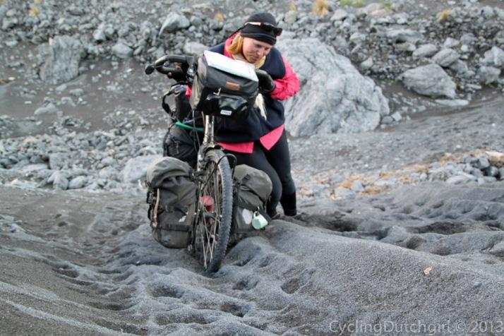 Push through sand