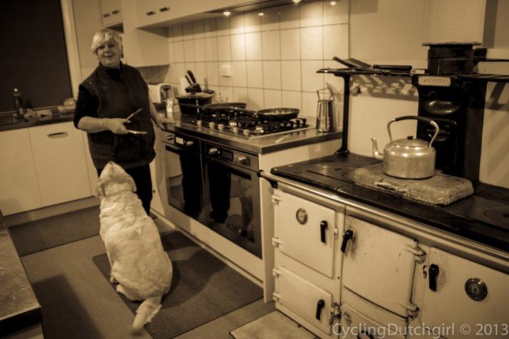 With Annie in the Kitchen