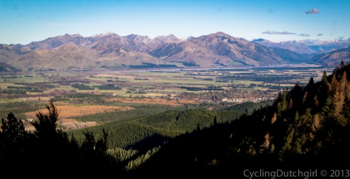 Hanmer Springs from Jollies Pass