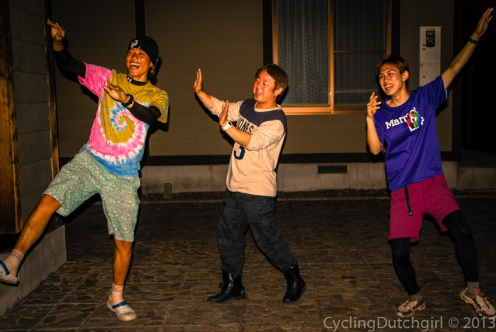 Japanese Style dancing