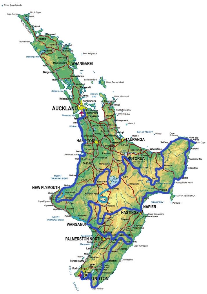 North-Island-Route